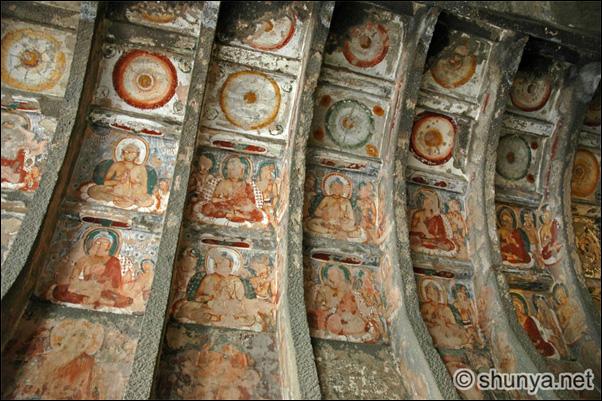 Росписи в буддийских храмах