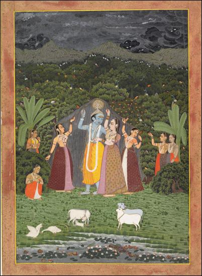 Индия Живопи��